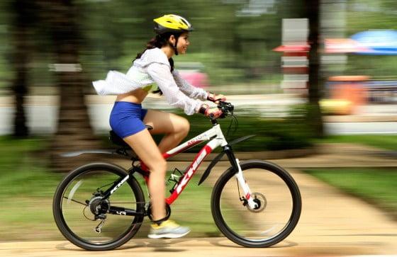 cách đạp xe giảm cân