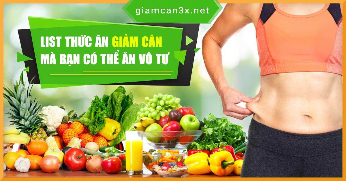 thức ăn giảm cân