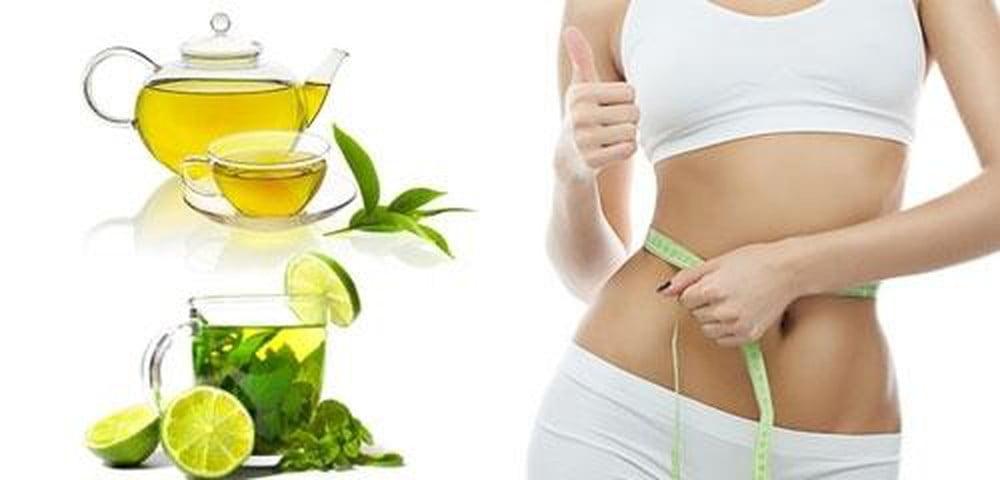 giảm cân cùng trà xanh