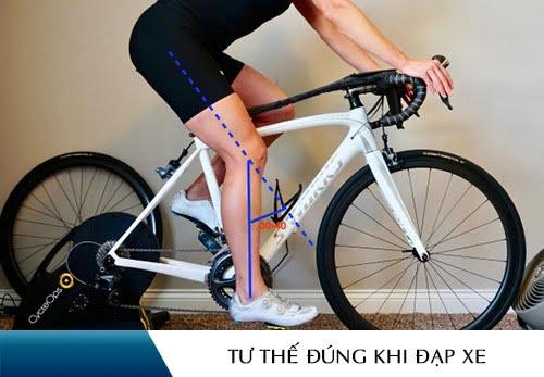 đạp xe giảm cân đúng cách